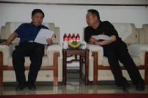 沁阳市委副书记刘明胜一行莅临我调研